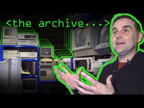 The Archive (Centre For Computing History) - Computerphile