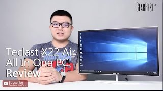 Gearbest Review: Teclast X22 Air All In One PC - Gearbest.com