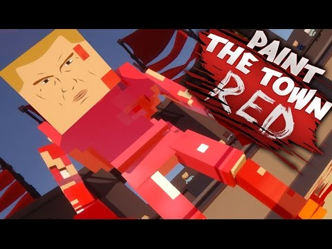 SUPER POWERED BOSSES! | Paint The Town Red