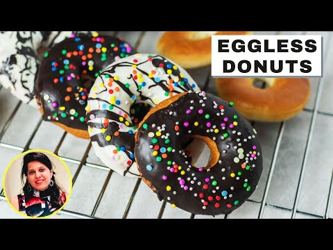 घर पर बनाये ये  डोनट्स, बिलकुल बाज़ार जैसे   Homemade Donuts Recipe in Hindi   Mintsrecipes