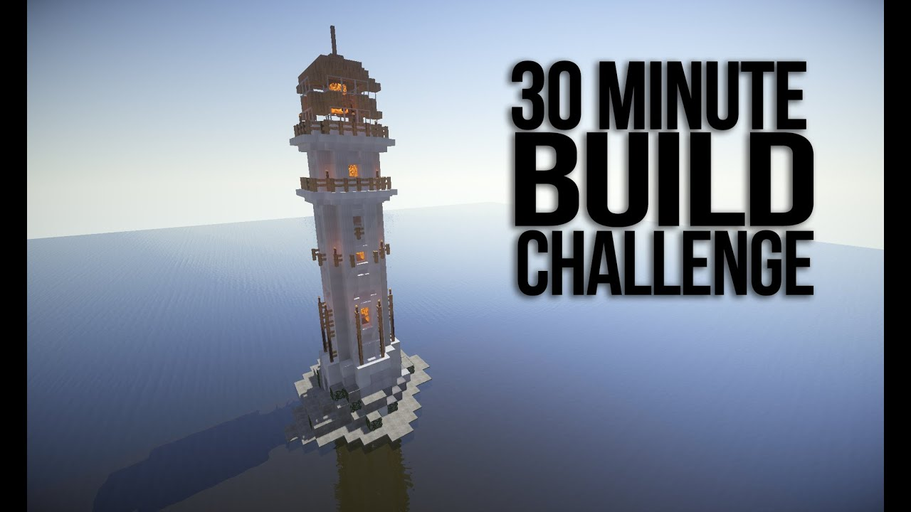 How To Build A Minecraft Lighthouse