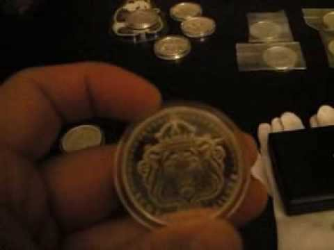 Month #1 end of Jan 2014 Silver Stacking PURCHASES coins gold cost average per oz
