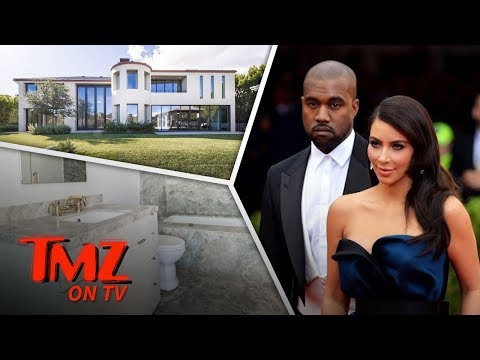Inside Kim Kardashian & Kanye West's Old Bel-Air Mansion! | TMZ TV