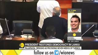 Rajapaksa resigns as Lakan PM