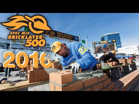 SPEC MIX BRICKLAYER 500® & MASONRY MADNESS™ 2016