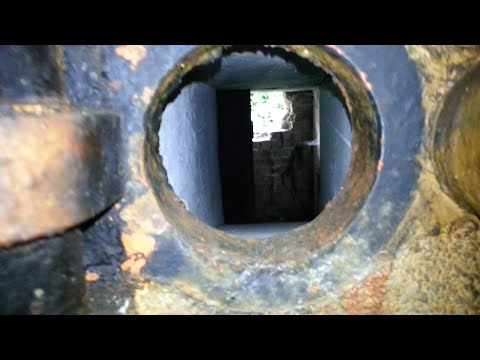 Taking a look at a old Dutch bunker