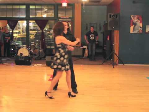 Salsa Dancing Performance at Dance FX Studios in Mesa AZ