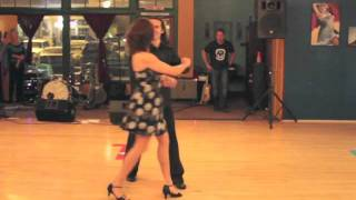 Salsa Dancing Performance at Dance FX Studios in Mesa AZ