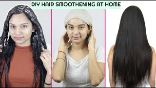 GET SHINY SILKY SOFT HAIR SMOOTH HAIR NATURALLY HOMEMADE HAIR MASK FOR DRY DAMAGED HAIR