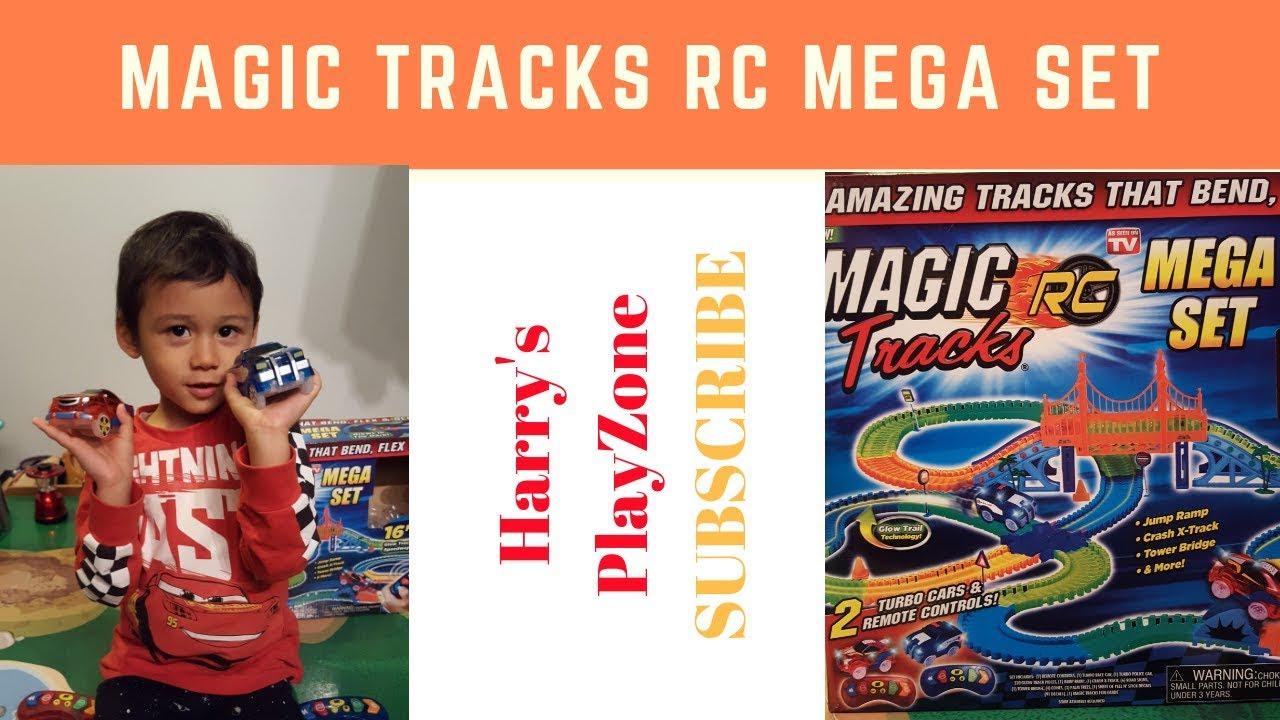 Magic Tracks Turbo Rc Mega Set Review Youtube