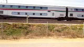 """فيديو.. تجارب قطار """"تي جي في"""" (شاهد سرعته)"""