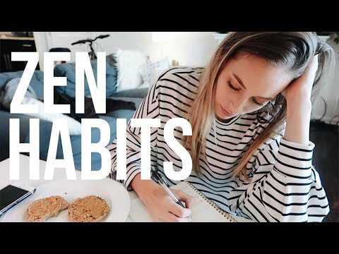 5 Powerful Zen Habits To Establish During Your Morning & Evening Routine   VLOG