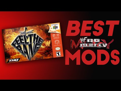 5 BEST N64 WWE No Mercy Overhaul MODS!