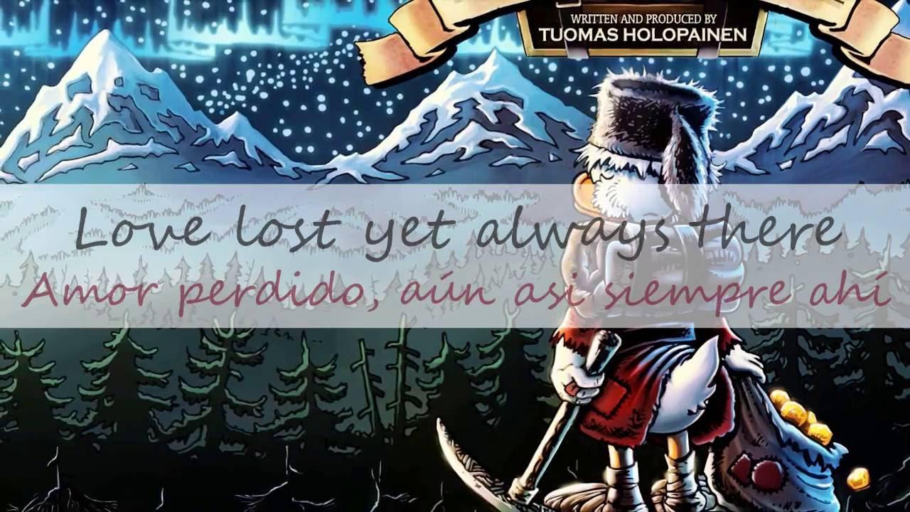 Lyrics from the cartoon Cold Heart 13