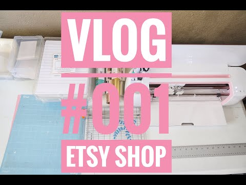 Can I Open An Etsy Shop?- Vlog #001