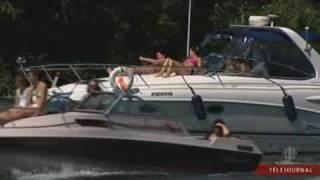 Interdire les bateaux à moteur du parc des Îles-de-Boucherville