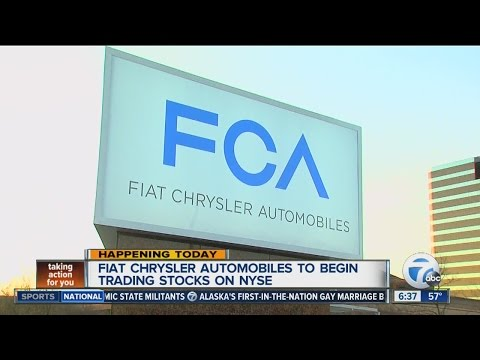 Fiat Chrysler to be listed on NYSE