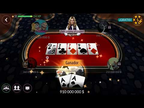 Texas Holdem Poker - Road To 1 Billion in 5 Mins , 200m Table !! zyngapoker
