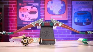 Zelda: Breath of the Wild Travelers Bow and Arrow Replica Unboxing