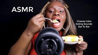 Trying Cheese Cake ASMR Eating Putting You To Sleep