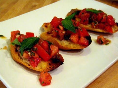 How to do bruschetta recipe