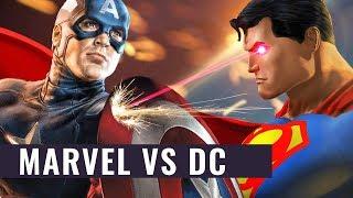 Marvel zerstört DC? - So knechtet Captain America den Dunklen Ritter