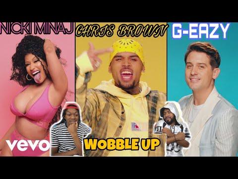NICKI SO FINE 😍Chris Brown – Wobble Up (Official Video) ft. Nicki Minaj, G-Eazy | FVO REACTION