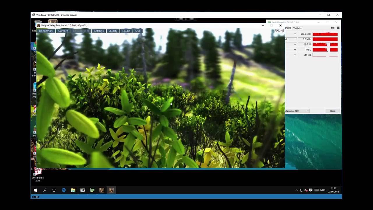 Citrix XenDesktop 7 9 Windows 10 VDI Intel NUC Skull GPU Passthrough