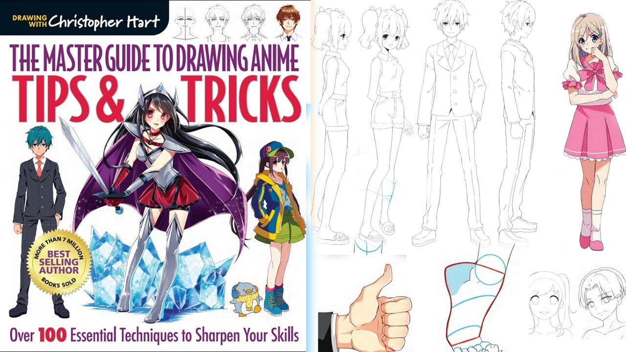 The Master Guide To Drawing Anime Tips Trick Part 1 Youtube