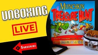 Munchkin Treasure Hunt Unboxing