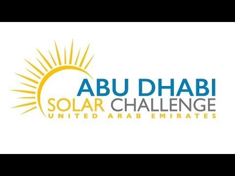 AbuDhabi Solar Challenge - Launch Video