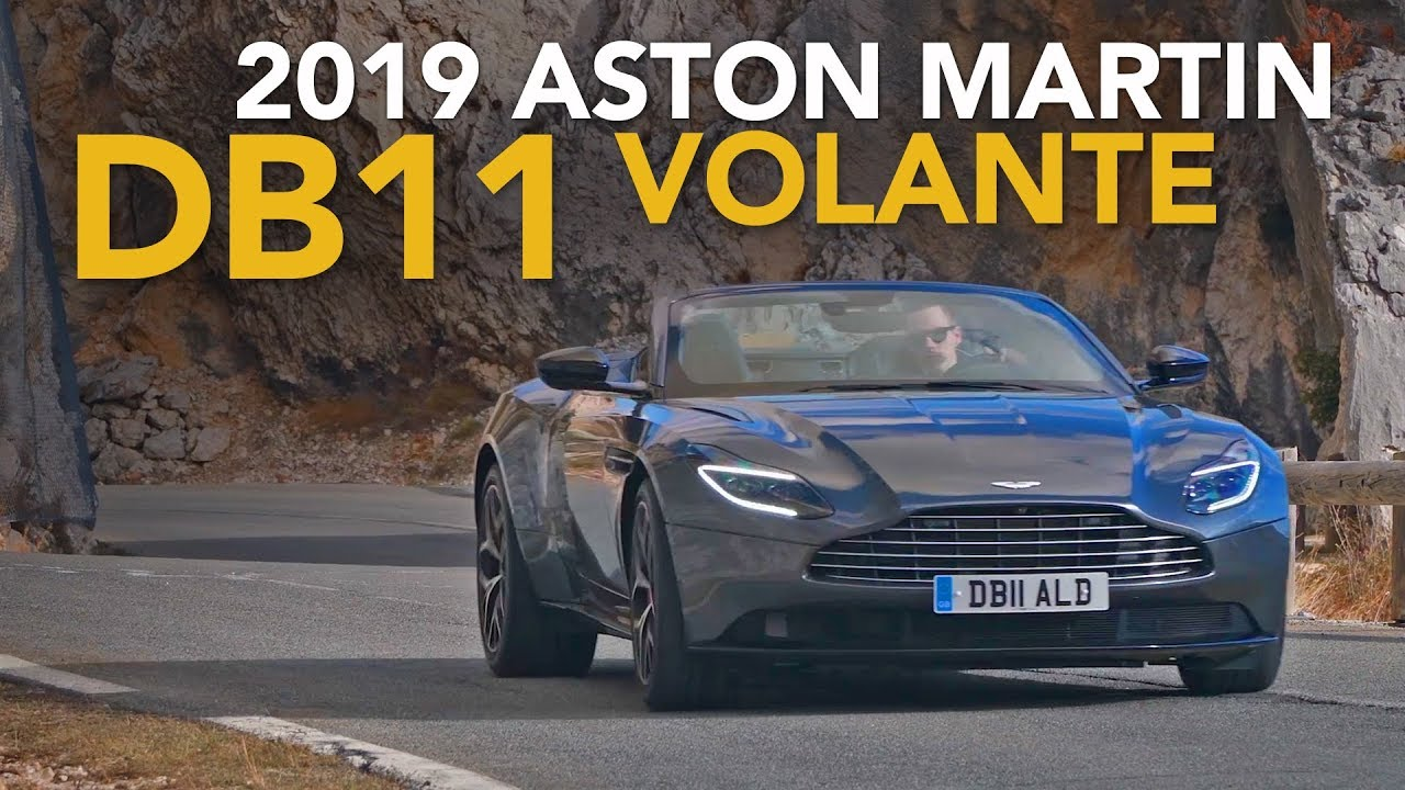 2019 Aston Martin Db11 Volante Review First Drive Youtube