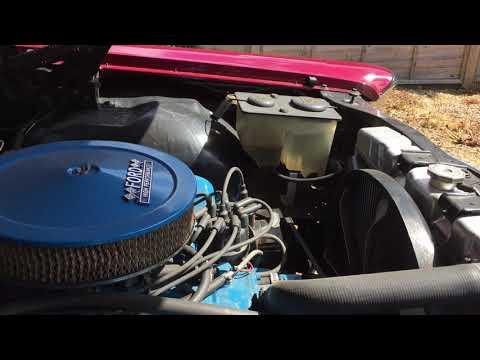 1967 Ford Galaxie Engine Bay