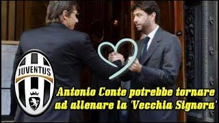Mercato Juventus: Antonio Conte potrebbe tornare ad allenare la 'Vecchia Signora'