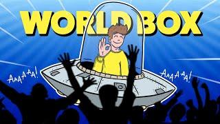 ZNISZCZYŁEM CAŁY ŚWIAT KOSMITAMI! - Worldbox