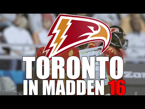 THE FIRST CANADIAN TEAM IN THE NFL!- WEEK 1- MADDEN 16 CONNECTED FRANCHISE