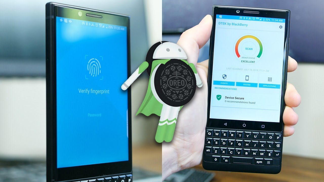 BlackBerry Key2 30 Day Challenge: Android 8 1 Oreo, Security Features, and  Bloatware