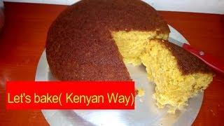 No Oven cakeThe Kenyan Experience Mawe tatu