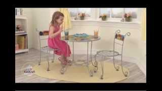 Kidkraft Bistrotable & 2 Chair Set Outdoor 00068