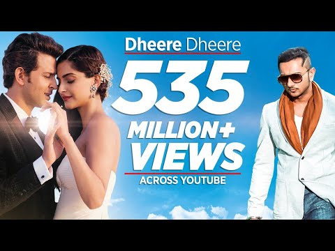 Mix - Dheere Dheere Se Meri Zindagi Video Song (OFFICIAL) Hrithik Roshan, Sonam Kapoor | Yo Yo Honey Singh
