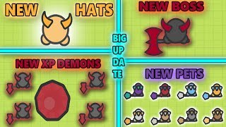 NEW DEMON BOSS, NEW PETS, NEW MINI EXP DEMONS & NEW HATS! HUGE NEW UPDATE ZOMBS.IO! (Zombs.io)