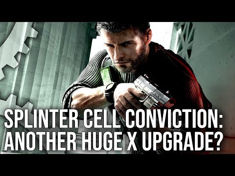 [4K] Splinter Cell Conviction On Xbox One X: Another Dramatic X-Enhanced Upgrade?