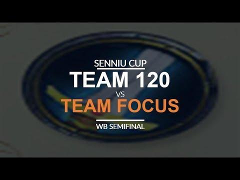 Senniu Cup - WB SF: Team 120 vs. Team FoCuS