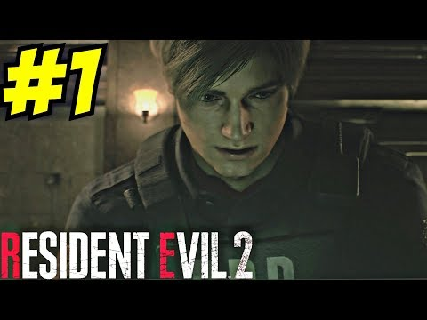 Resident Evil 2 Remake Gameplay Walkthrough Part 1 30 minutes Unseen Footage RE2 Remake