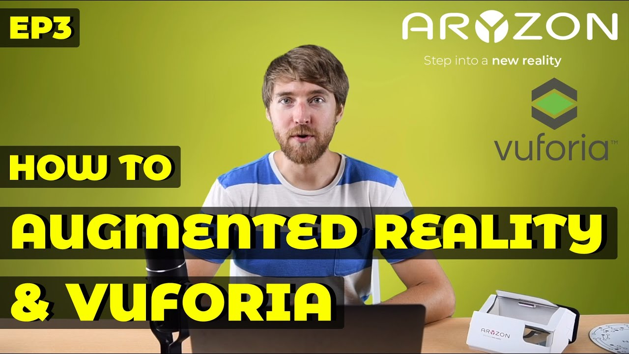 How to Build a 3D Augmented Reality Game w/ VUFORIA | Unity & Aryzon | AR  Developers Tutorial Ep 3