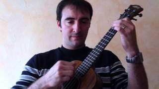 Que Nadie Sepa mi sufrir (Amor des mis amores / la foule) - ukulele Cover