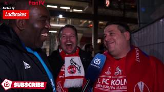 Cologne 1 Arsenal 0 | See You In The Final! (Cologne Fans Very Happy)