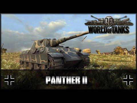 World of Tanks - Live: Panther II [ deutsch | gameplay ]