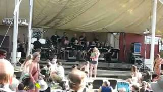 Carlton Jackson/Dave Mills Big Band Live-Cathedral Park Jazz Fest