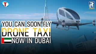 Introducing ehang 184 drone taxi in dubai